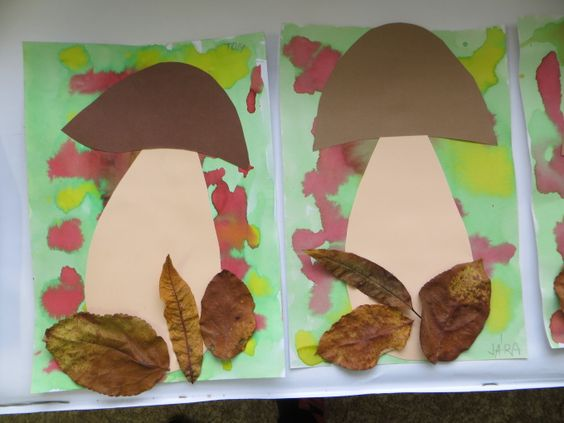mushroom craft idea for preschooler (1)