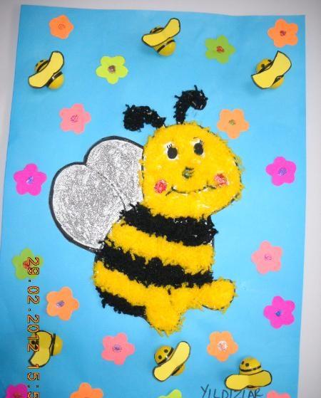 bee bulletin board idea for spring