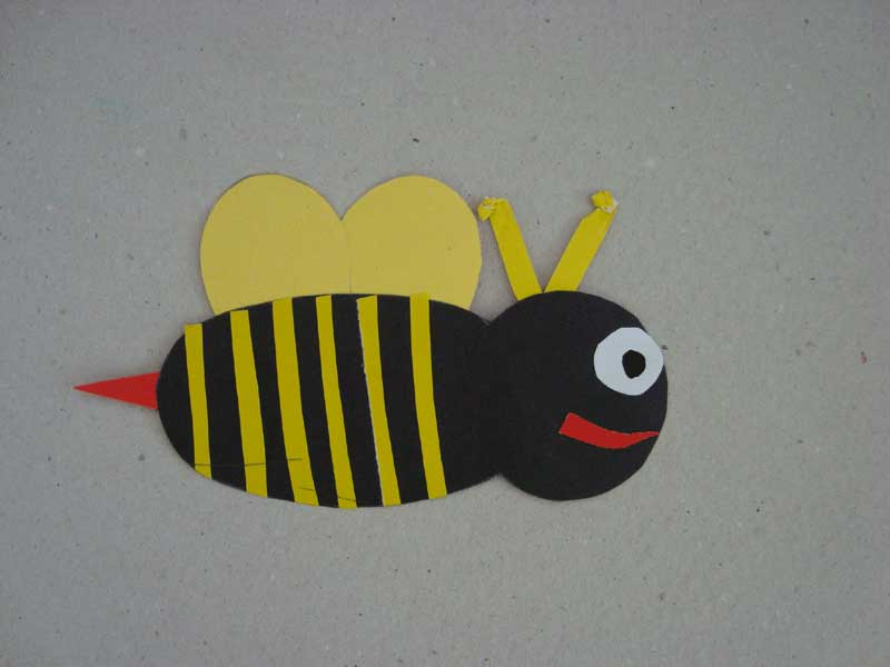 bee craft idea for spring