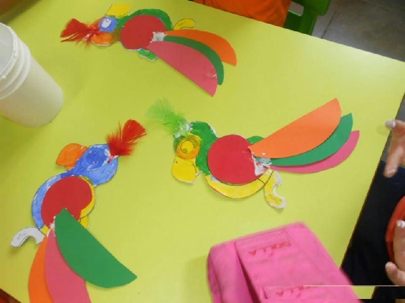 circle parrot craft