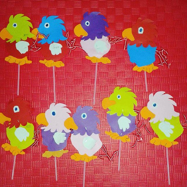 parrot puppet craft