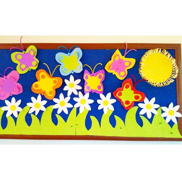 spring bulletin board idea for kids (3)