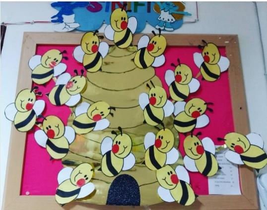 bee bulletin board ideas