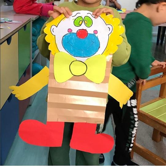 clown craft idea for kids (1)