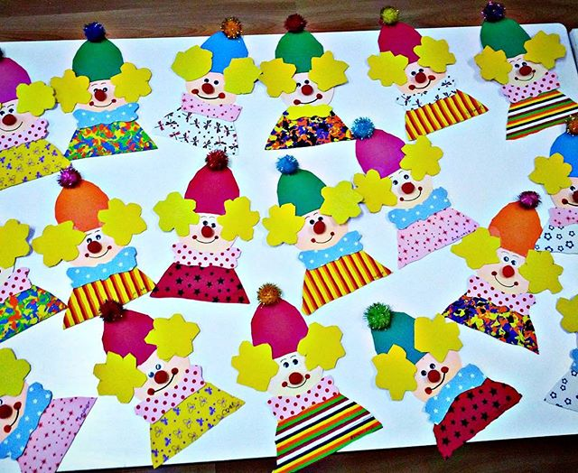 clown craft idea for kids (3)