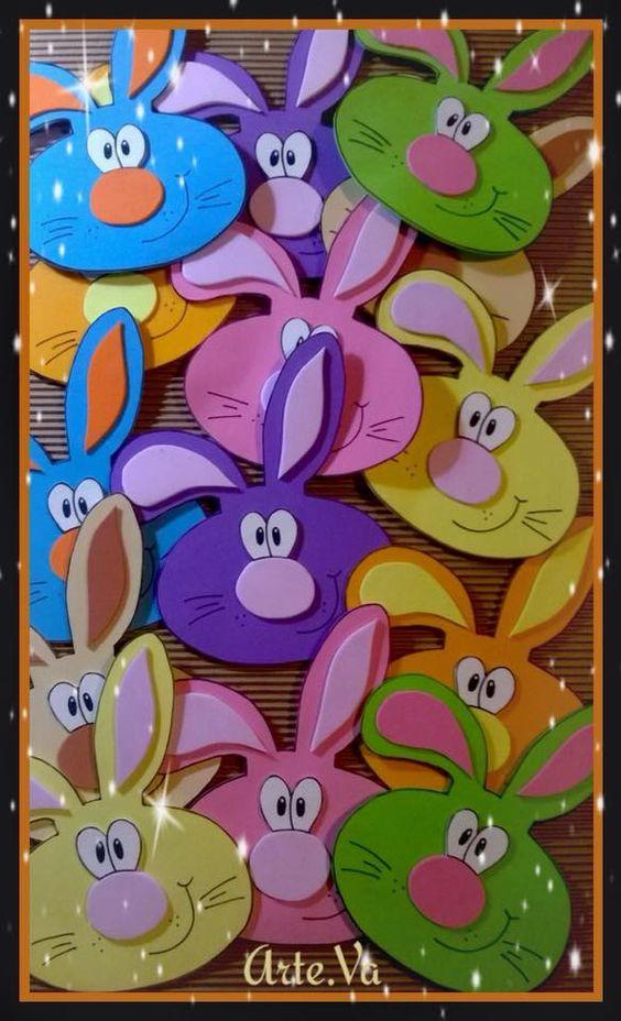 cute bunny craft idea