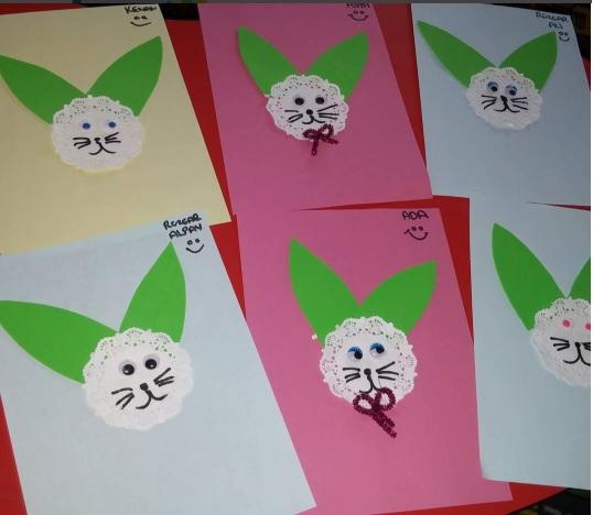 easy bunny craft