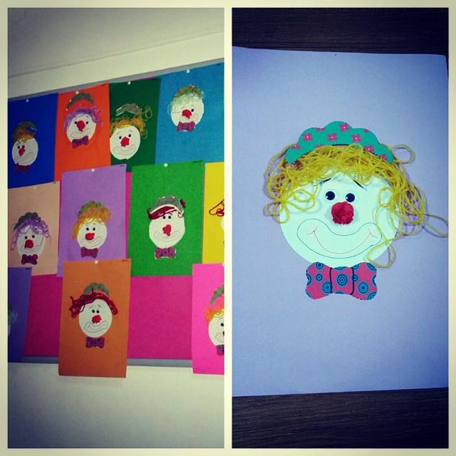 easy clown craft idea