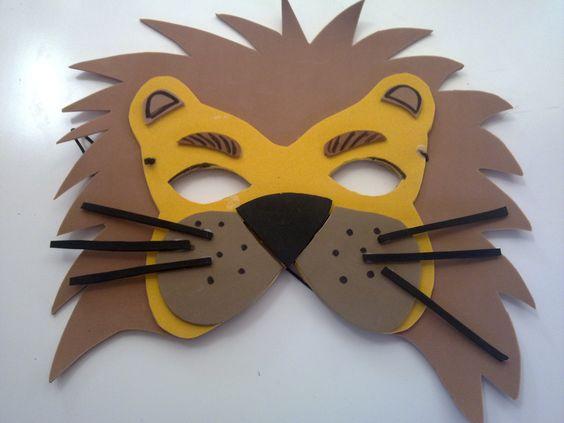 lion mask craft (1)