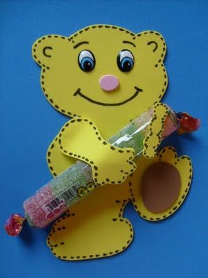 lolliop bear crafts