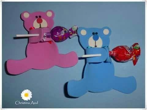 lollipop bear craft idea