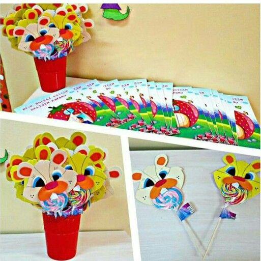 lollipop bunny craft