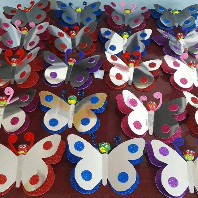 lollipop butterfly craft idea for kids