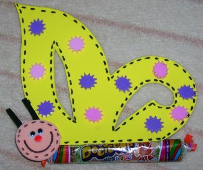 lollipop butterfly craft