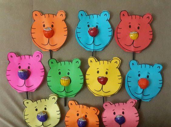 lollipop cat craft