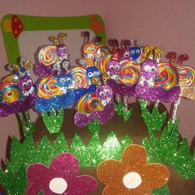 lollipop snail crafts