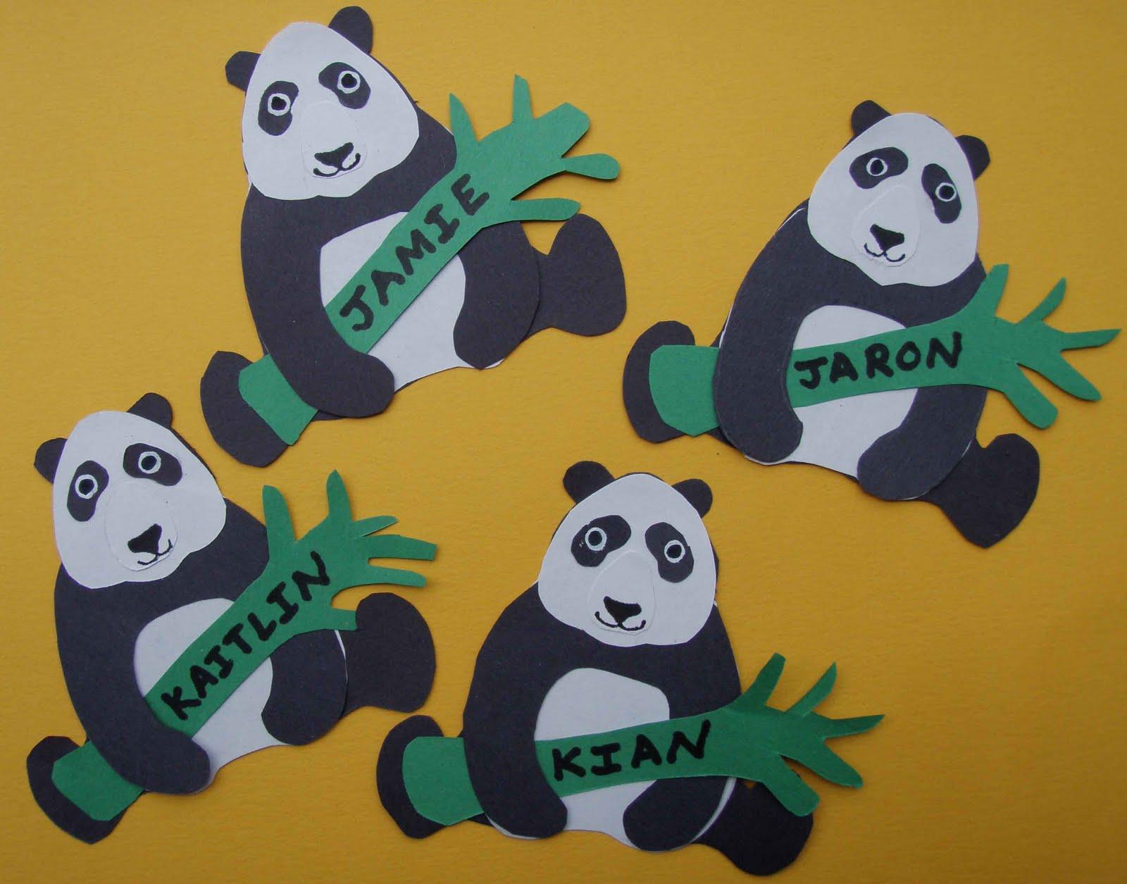 panda bear craft ideas