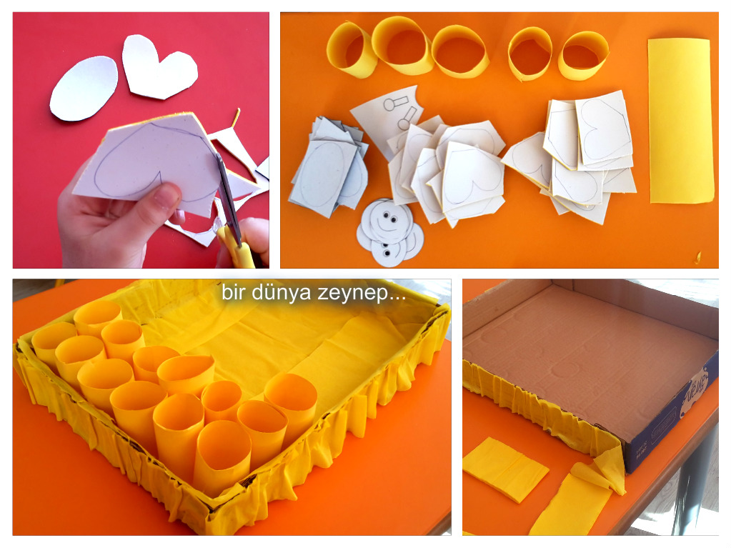 paper roll beehive craft (1)