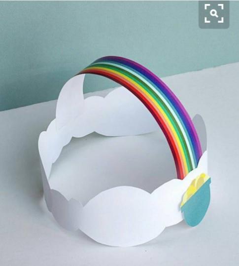 spring headband craft