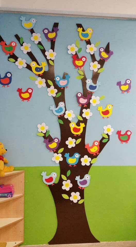 spring tree craft idea