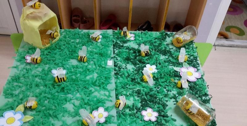 surprise egg bee craft idea (2)