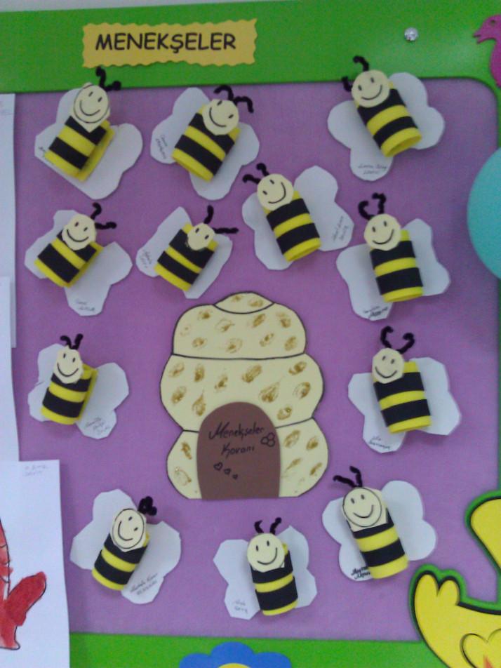 toilet paper roll bee craft idea
