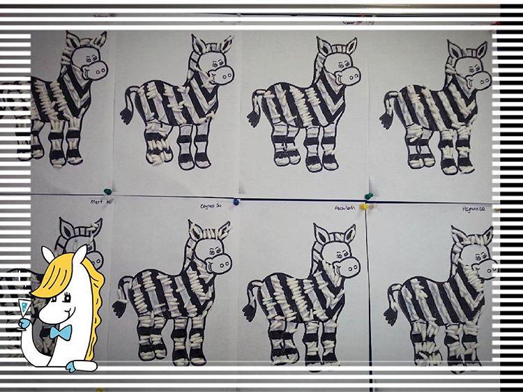 zebra craft idea