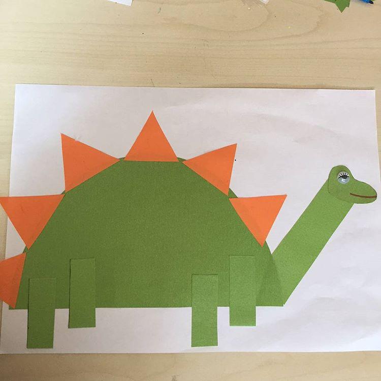 dinosaur craft idea for kids (1)