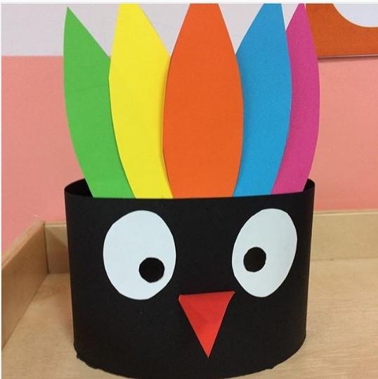 turkey headband craft idea