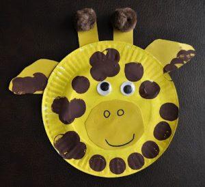 Paper-Plate-Giraffe-craft