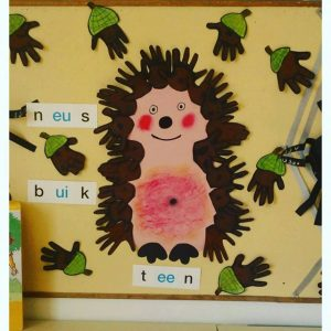 hedgehog craft idea