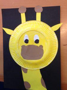 paper_plate_giraffe_craft_idea