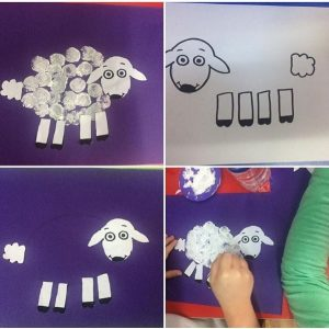sheep craft idea for kids