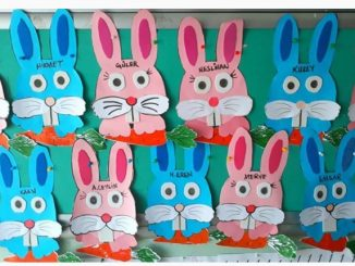 bunny craft idea for preschool
