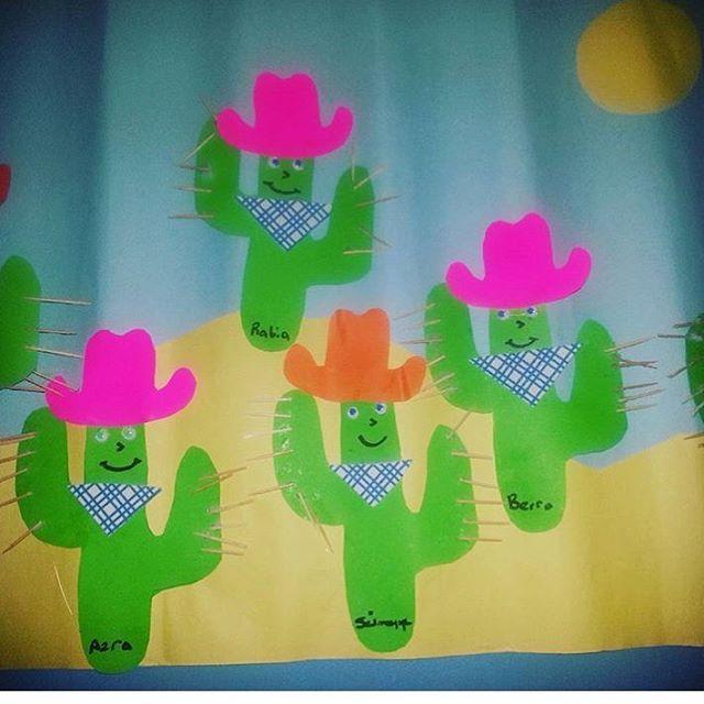 cactus craft idea for kids