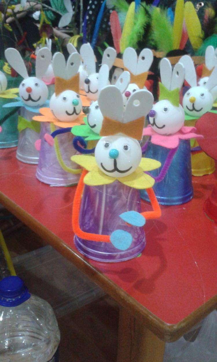 easter bunny craft ideea