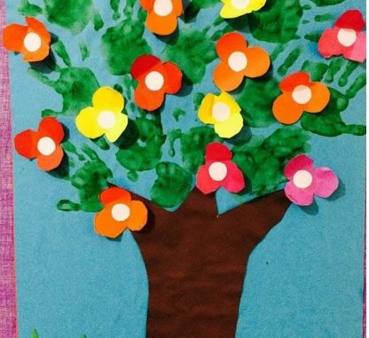 spring-tree-craft-idea-for-kid